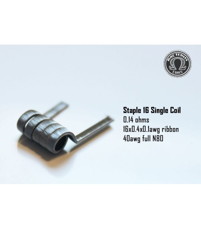 Staple 16 Single Coil 0.14 – Bacterio Coils