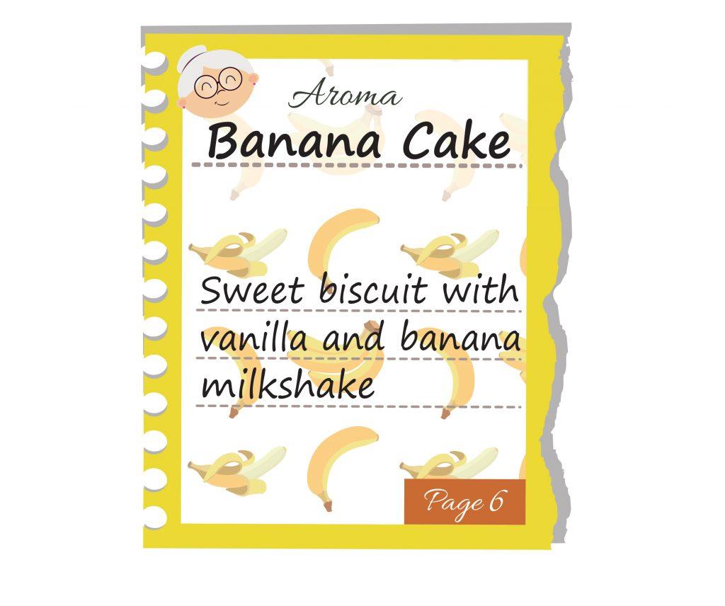 Banana Cake – Aromas