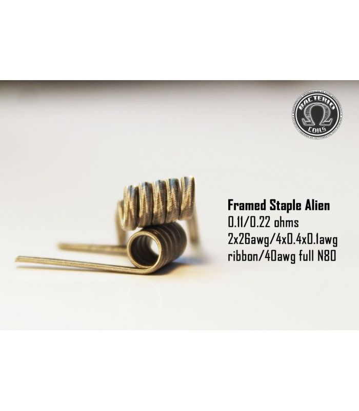 Framed Staple Alien Full NI80 0.22/0.11 – Bacterio Coils