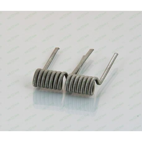 Fused Low Cost 0,21 Ohm Full N80 – Bacterio Coils
