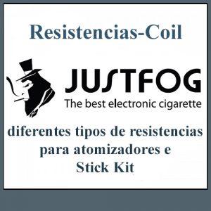 Resistencias / Coils Justfog